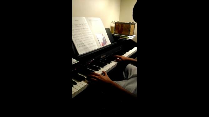 "Danisch playing ""Attitude"""