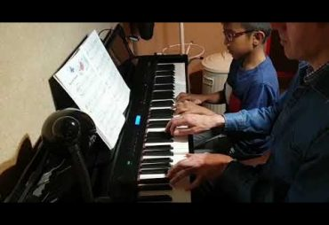 "10-year-old Krithik playing ""Butterflies"""